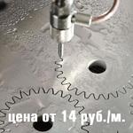 Гидрообразивная резка металла